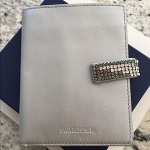 Swarovski Leather Wallet